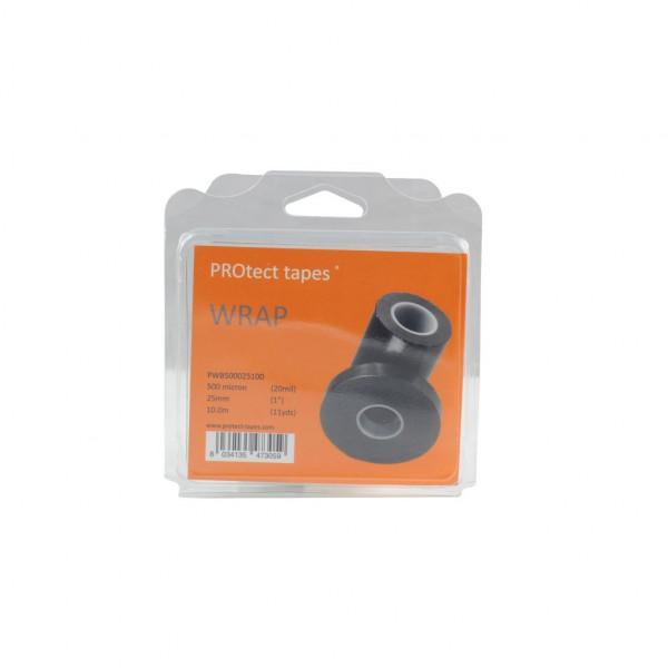 PROtect tapes-PT-PWB500025100-Nastro Wrap nero 500 micron 25mm x 10m-31