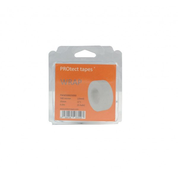 PROtect tapes-PT-PWW500100030-Nastro Wrap bianco 500 micron 100mm x 3m-31