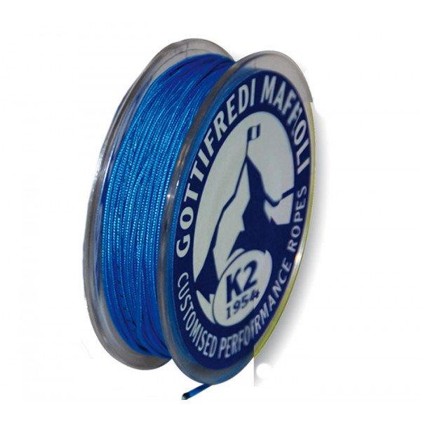 Gottifredi Maffioli-TDYF24X-FLUO.AZ0.9-Mini rocchetta da 35m in DYNEEMA Ø0.9mm azzurro fluo-30