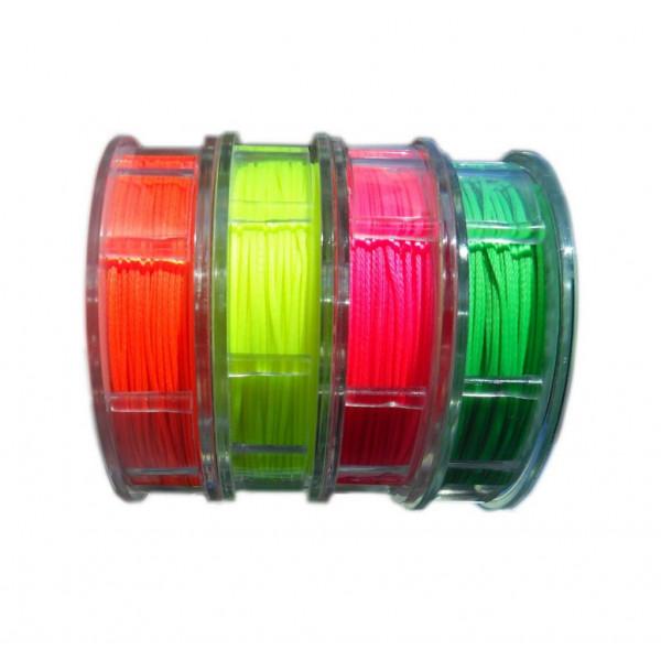 Gottifredi Maffioli-GM-FILO-FLUO-Filo cerato in poliestere Ø1mm da 40m per impalmature colori fluo-31