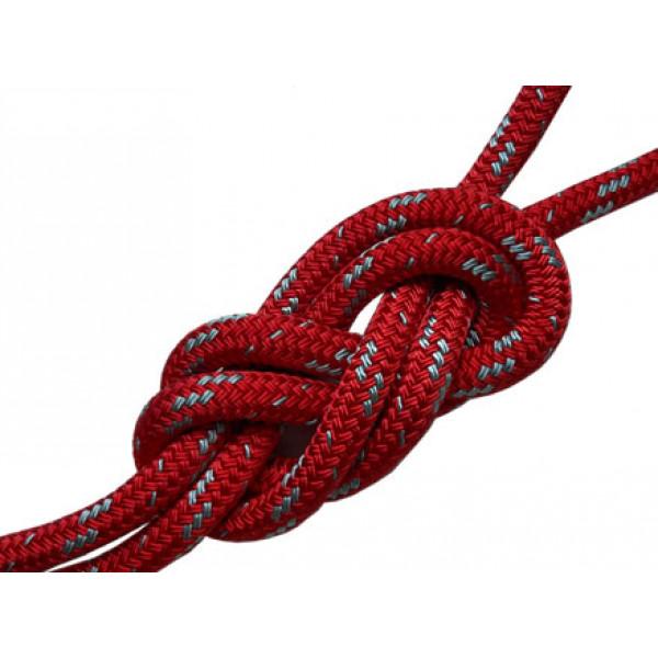 Gottifredi Maffioli-G900800-RO-BO100-Bobina 100 metri doppia treccia POLIESTERE16 T90 alta tenacità Ø8mm rossa-31
