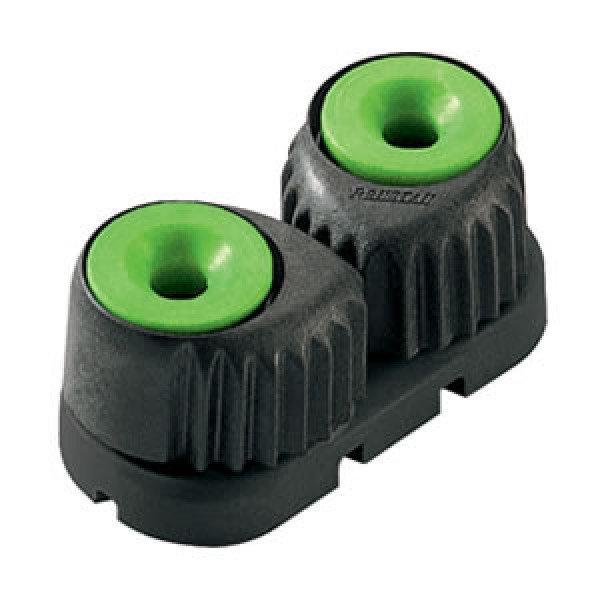 Ronstan-RF5400G-Strozzascotte verde dimensione piccola interasse 27mm-31