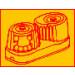 Viadana-25.16-Guida superiore per cod:25.10, 25.50 rossa-01